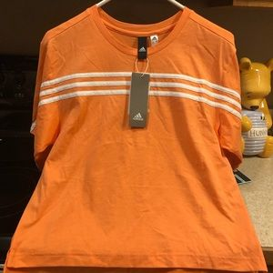 Women's New Adidas Crop Top Size Small